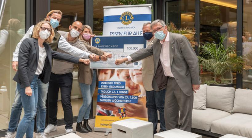100.000 Euro – apm bricht alle Spendenrekorde