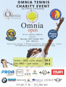 Read more about the article 30. Oktober 2021 – Charity Tennis Turnier in Paguera